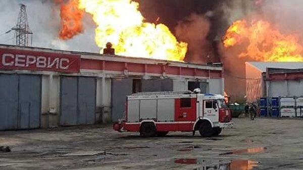 莫斯科附近熱電站發生大火 已致12人受傷