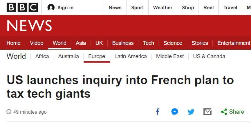 """法国这次想当""""带头大哥"""",结果美国先下手了"""