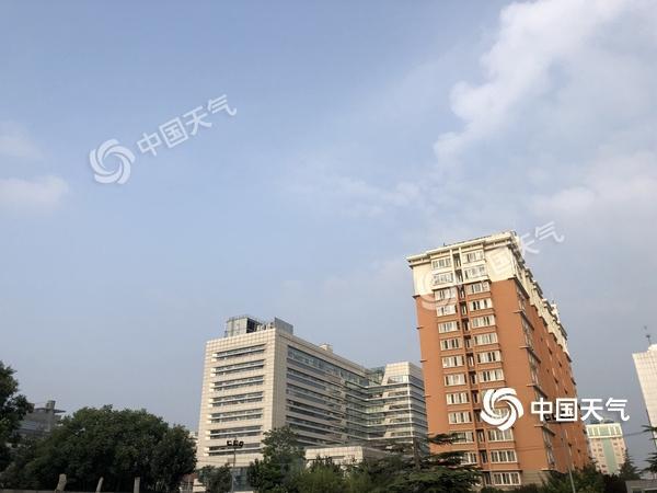 """今日北京晴天""""上线""""气温30℃ 明日入伏升温继续"""
