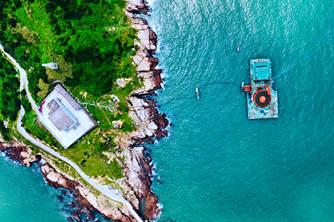 浙江舟山花鳥島建設第二回路輸電工程