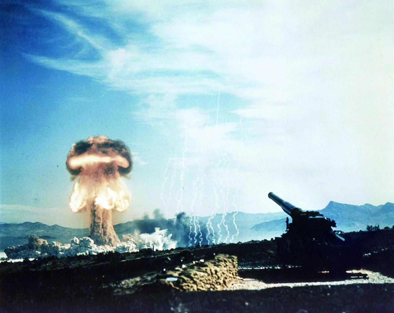 """美全軍種訓練""""核爆后作戰"""" 實打實準備核戰爭"""
