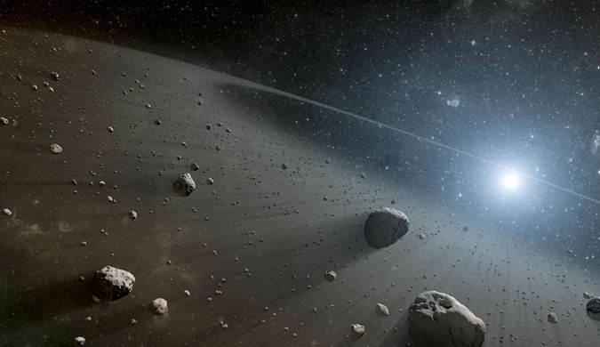 盘点太空中的小行星迷人美图