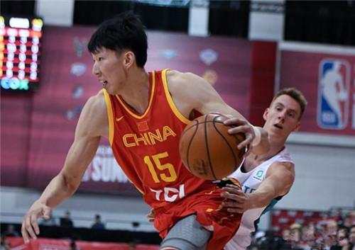 NBA夏季联赛中国男篮赴美热身 周琦收获最大