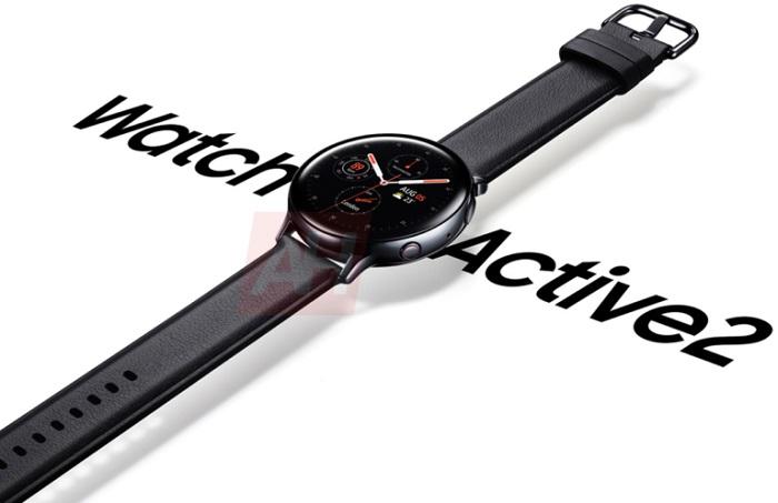 三星Galaxy Watch Active 2官方渲染图流出