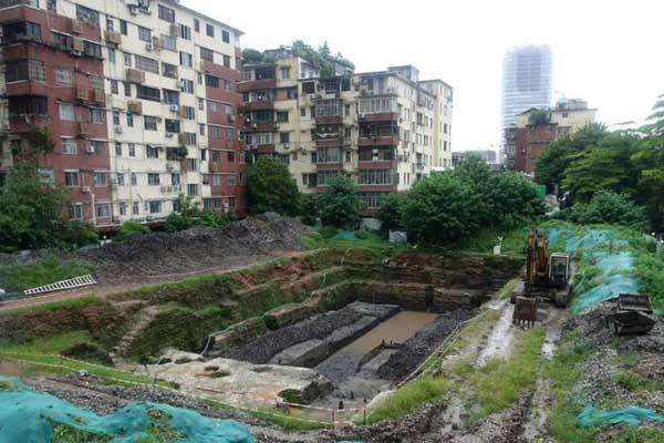 广州解放中路出土逾两千件晚唐陶瓷器