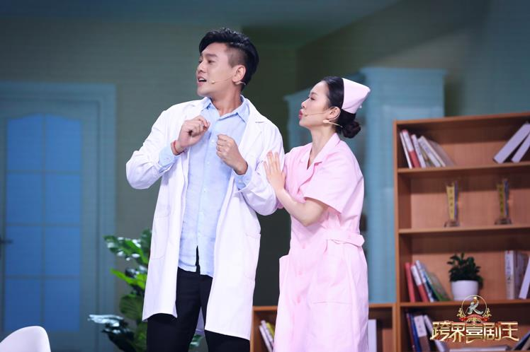 金马奖2015直播(可疑的美容店)朱孝天登《跨界喜剧王》第四季 变身心理医生