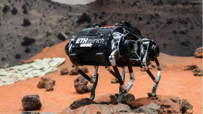 SpaceBok机器人被设计用于在低重力环境中跳跃