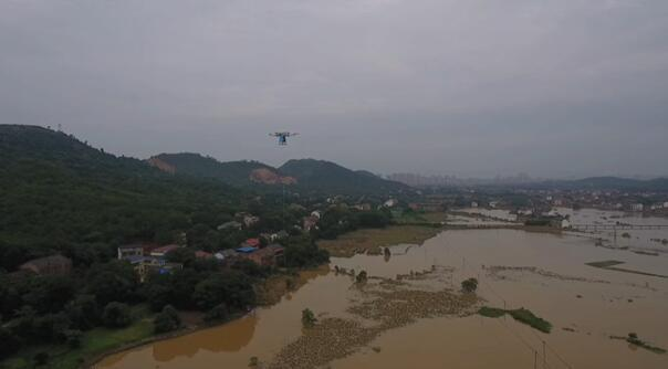 """湖南移动""""无人机高空基站""""紧急支援衡东重灾区 确保通信畅通"""