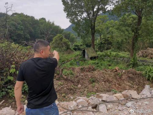 浙江平阳重点工程未经批复开工 将村民房屋拆除(图)