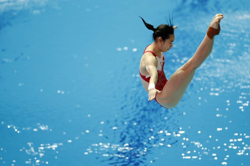 国际泳联世锦赛:陈艺文女子1米板夺冠为中国再添一金