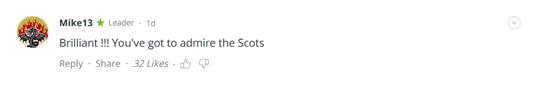 """抛弃帝王爱凡尘:苏格兰歌手创""""鲍里斯之歌"""",获赞""""太有才了!"""""""