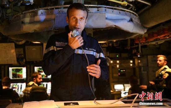 马克龙宣布法国军队将组建太空指挥部