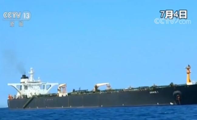 """由美祛斑霜(崔景童)油轮遭英国扣押 伊朗外长再喊话""""快放油轮"""""""