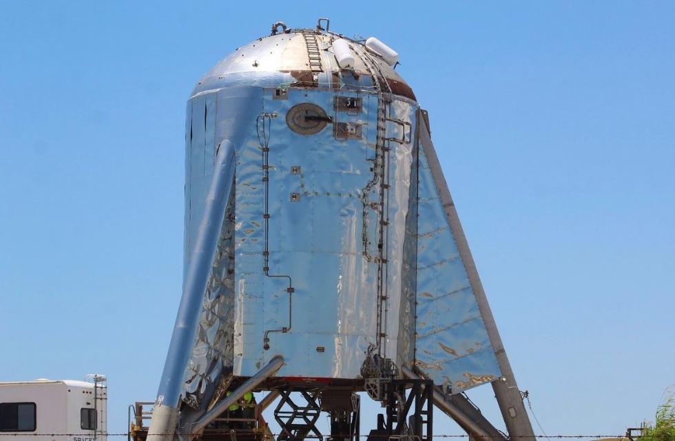 """天龙八部 金刚砂(心爱颂的谐音歌词)SpaceX星际飞船原型下周二将进行""""悬停""""测验"""