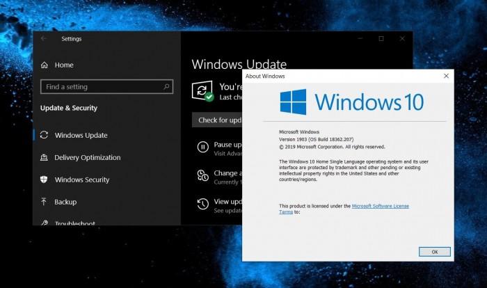 微软制作Windows 10 v1903远程桌面黑屏修复补丁