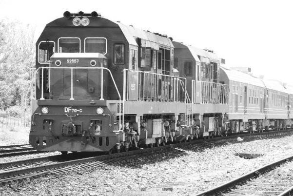 古巴驶出中国造新列车