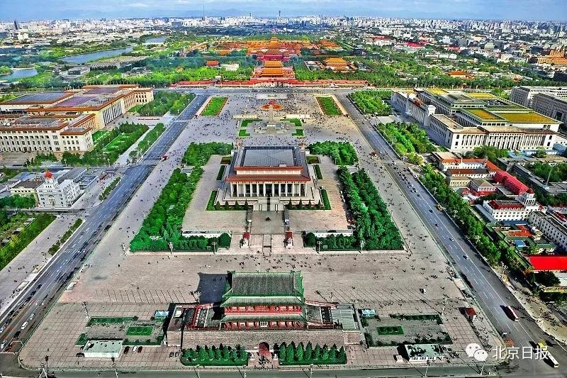 天安门广场将启动景观工程 预计今年9月底全部完工