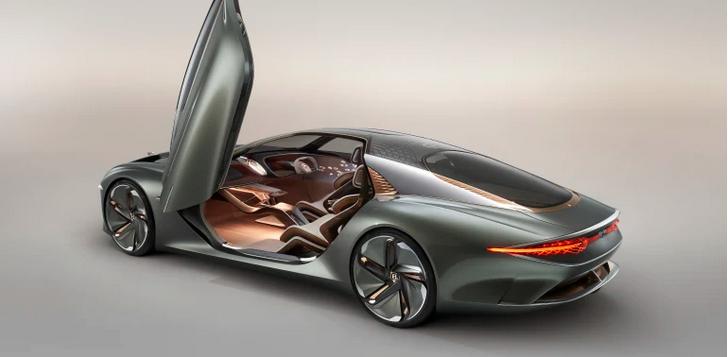 百年宾利发布EXP 100 GT概念车 续航里程700公里