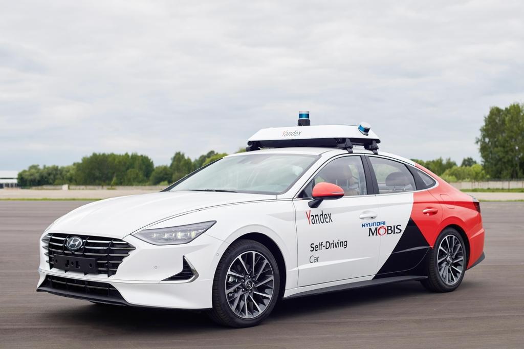现代携手Yandex在俄测试无人驾驶出租车