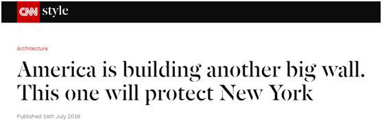 """重生之高门淑媛(普法栏目剧爱潮)美国又要建一堵""""墙"""",这次是为了维护纽约"""