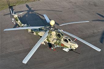 俄最先进米28NM直升机亮相 未来将交付俄军