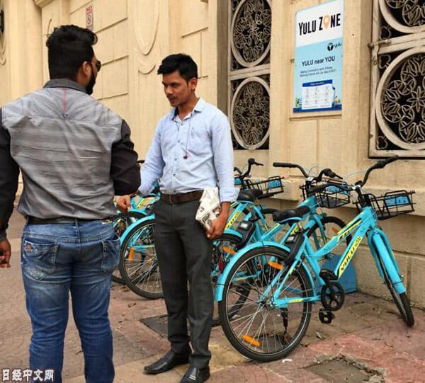 印度兴起共享单车服务 能否全面普及仍未知