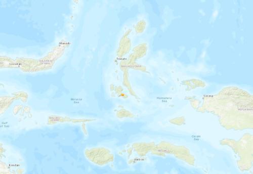 胡雅捷(蜘蛛窟窿无谋的剑士)印尼北马鲁古省南部发作5.0级地震 震源深度10千米