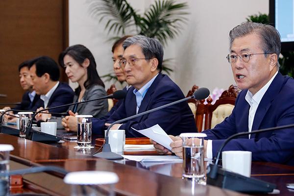 文在寅警告:阻挡韩国发展 日本经济会遭受更大损失