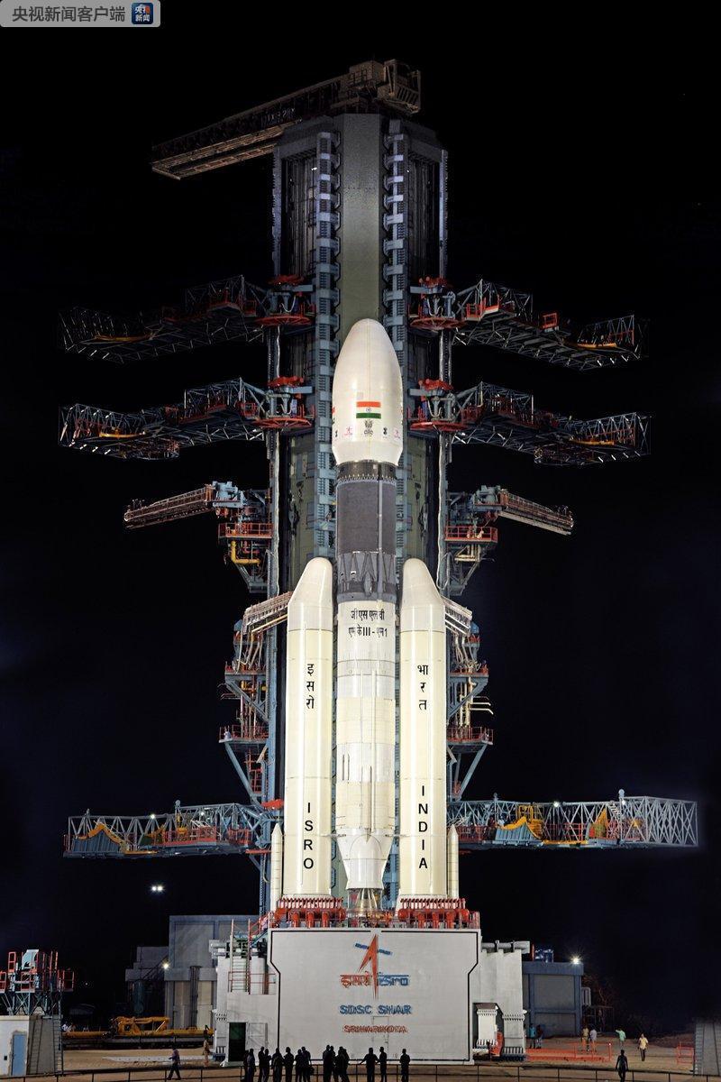 """印度""""月船2号""""发射因技术故障临时取消 登月计"""