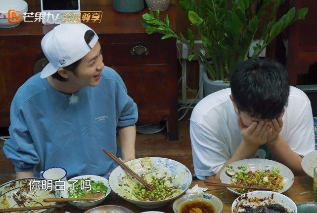 《向往3》黄磊做饭真的好吃吗?看清陈赫碗里的剩饭?终于真相了