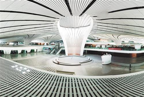 """大兴机场:行李轨迹将实现""""尽在掌握"""""""
