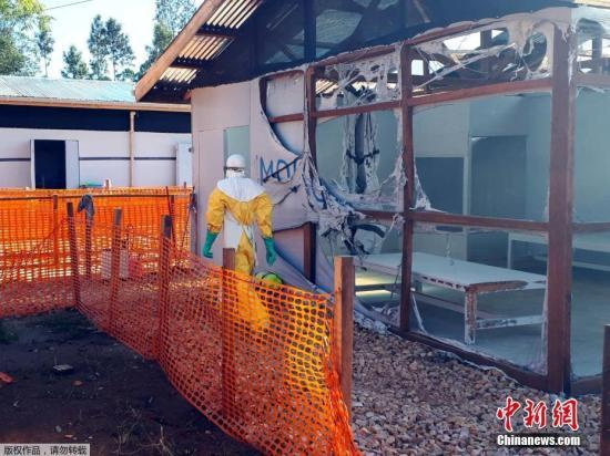 刚果(金)东部城市戈马确诊首例埃博拉患者