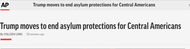马尔西娅·爱子(魔兽真三张辽攻略)特朗普政府将采纳举动,停止对大多中美洲移民的维护维护