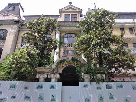 历经沧桑的武汉百年古建筑:江汉饭店观音阁钟楼旧址