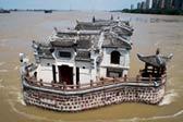 历经火灾水淹的武汉百年古建筑:江汉饭店观音阁