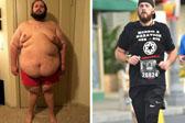 男子胖至压坏体重秤 跑步21个月狂瘦231斤