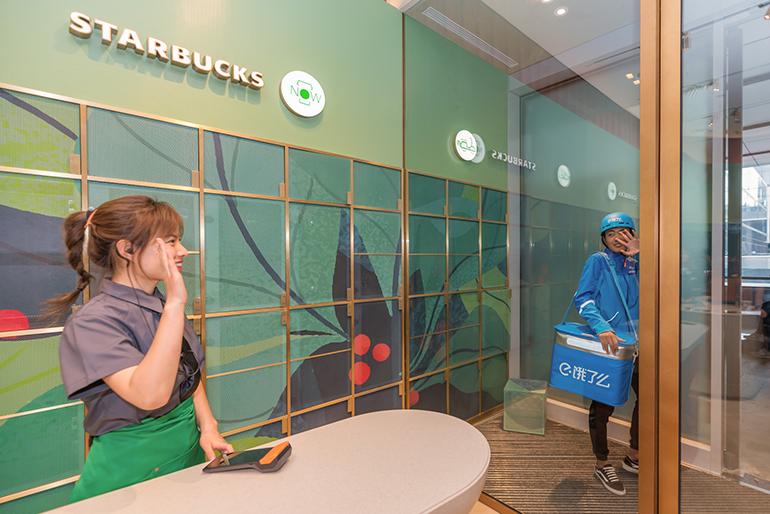 """星巴克""""啡快""""门店开业 跟上中国数字化趋势"""