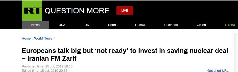 心爱颂罗马文歌词(3106 75克拉的钻石)抢救伊核协议仅仅说说?伊朗外长炮轰欧洲:他们还没准备好