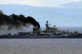 """俄海军""""烧煤船""""又来了"""