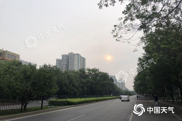 今明天北京将遇全市性雷雨天 局地或有强对流