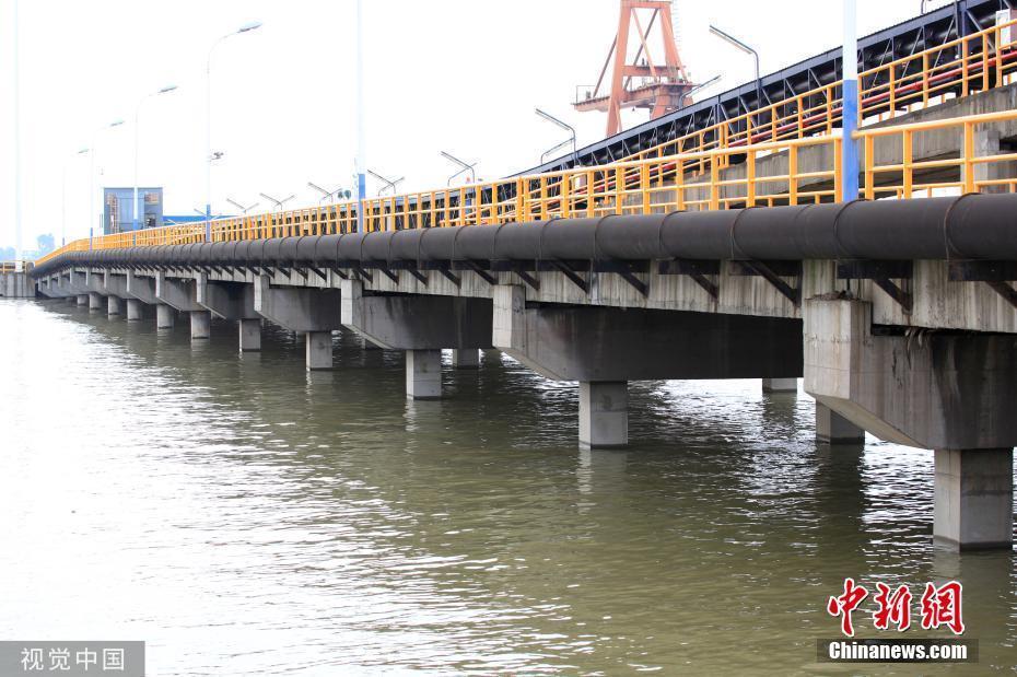 长江1号洪水形成 江西湖口站水位超警戒线0.84米