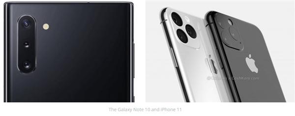 外媒批苹果三星:iPhone11和三星Note10都抄袭华为