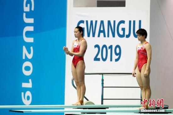 施廷懋世锦赛四连冠 中国队已收跳水半数金牌
