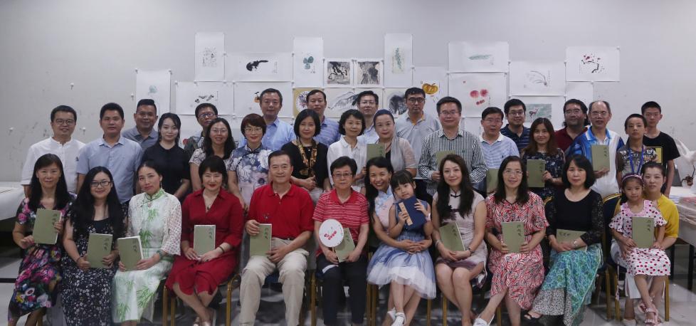 炎炎夏日,芰荷迭蔚——千黛诗画赏读会在京举行