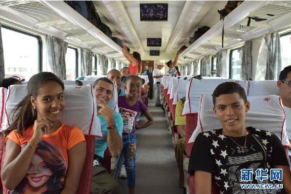 外媒:中国造列车奔驰在古巴 闪亮了世界