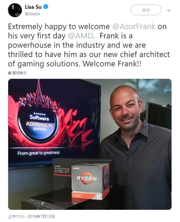 Alienware联合创始人加盟AMD任首席游戏架构师
