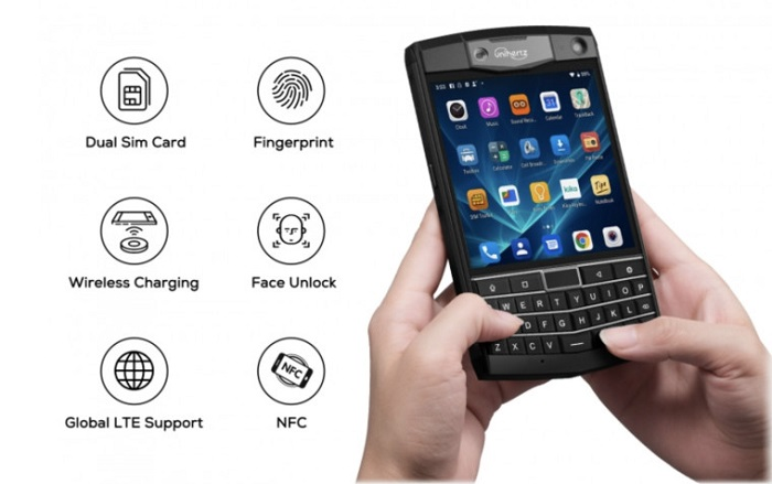 黑莓Passport精神续作:Unihertz Titan将上线众筹