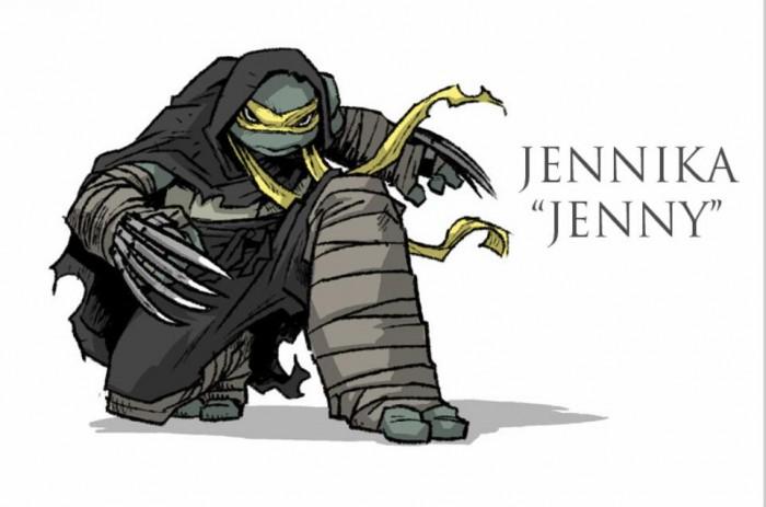 《忍者神龟》漫画惊现首位女性神龟