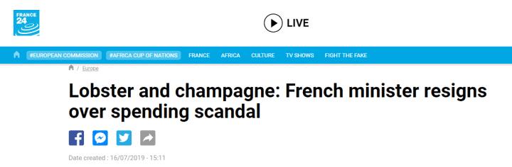 boast是什么意思(浴火湘西情)法国环保部长宣告辞去职务,曾被曝屡次花公款办奢华晚宴