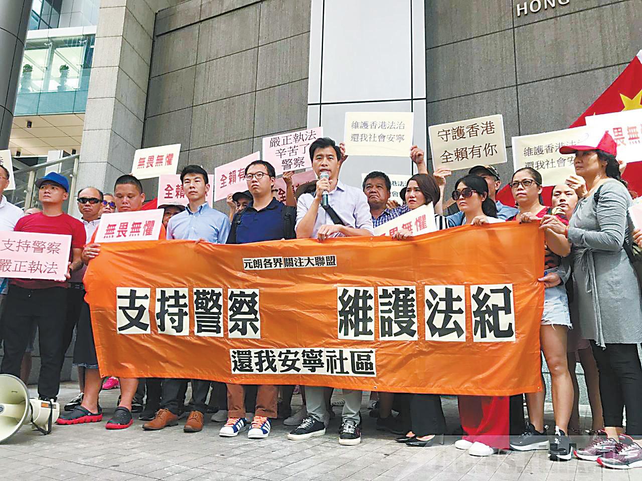 香港各界敦促严惩袭警暴徒,有人提议,应尽快设立《禁蒙面法》